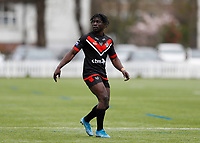 28th March 2021; Rosslyn Park, London, England; Betfred Challenge Cup, Rugby League, London Broncos versus York City Knights; Gideon Boafo of London Broncos