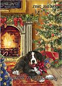 Marcello, CHRISTMAS ANIMALS, WEIHNACHTEN TIERE, NAVIDAD ANIMALES, paintings+++++,ITMCXM1347A,#XA# ,fireplace