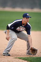 January 17, 2010:  Cody Hoffner (Sebring, FL) of the Baseball Factory Southeast Team during the 2010 Under Armour Pre-Season All-America Tournament at Kino Sports Complex in Tucson, AZ.  Photo By Mike Janes/Four Seam Images