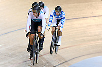 Campbell Stewart competes in the Men Elite Omnium Points Race 30km during the 2020 Vantage Elite and U19 Track Cycling National Championships at the Avantidrome in Cambridge, New Zealand on Friday, 24 January 2020. ( Mandatory Photo Credit: Dianne Manson )