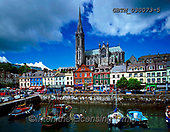Tom Mackie, LANDSCAPES, LANDSCHAFTEN, PAISAJES, FOTO, photos,+4x5, 5x4, boat, boats, building, cathedral, church, clouds, color, colorful, colour, colourful, Eire, EU, Europa, Europe, Eur+opean, fishing, fishing boat, float, floating, floats, harbor, harbour, horizontal, horizontally, horizontals, Ireland, Irish+large format, port, stilled, stillness, tranquil, tranquility, vessel, water, water craft, waterfront,4x5, 5x4, boat, boats,+building, cathedral, church, clouds, color, colorful, colour, colourful, Eire, EU, Europa, Europe, European, fishing, fishi+,GBTM030073-5,#L#, EVERYDAY ,Ireland