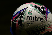 16th September 2020; Portman Road, Ipswich, Suffolk, England, English Football League Cup, Carabao Cup, Ipswich Town versus Fulham; A replacement match ball, seen pitch side