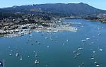 October 16, 2005; Sausalito, CA, USA; Aerial view of Sausalito, California and Mt. Tamalpais. Photo by: Phillip Carter