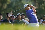 Sam Brazel of Australia tees off during the 58th UBS Hong Kong Golf Open as part of the European Tour on 11 December 2016, at the Hong Kong Golf Club, Fanling, Hong Kong, China. Photo by Vivek Prakash / Power Sport Images