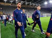 ORLANDO, FL - NOVEMBER 15: Tyler Boyd #21 of the United States walks onto the field during a game between Canada and USMNT at Exploria Stadium on November 15, 2019 in Orlando, Florida.