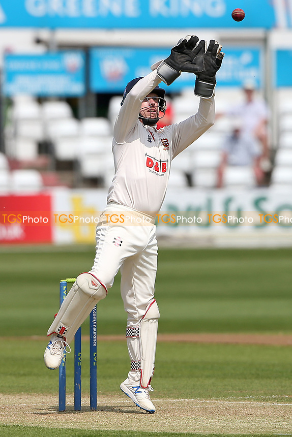 Adam Wheater of Essex catches the ball during Essex CCC vs Nottinghamshire CCC, LV Insurance County Championship Group 1 Cricket at The Cloudfm County Ground on 3rd June 2021