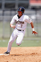 July 11, 2009:  Infielder Enrique Hernandez of the GCL Astros during a game at Osceola County Complex in Kissimmee, FL.  Hernandez was taken in the sixth (6th) round of the 2009 MLB draft.  The GCL Astros are the Gulf Coast Rookie League affiliate of the Houston Astros.  Photo By Mike Janes/Four Seam Images