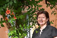 Chantal Lecouty Prieure de St Jean de Bebian. Pezenas region. Languedoc. ex-Owner winemaker. France. Europe.