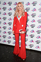 Ashley James<br /> arriving for the NME Awards 2018 at the Brixton Academy, London<br /> <br /> <br /> ©Ash Knotek  D3376  14/02/2018
