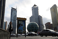 Friendship Square in Dalian Liaoning China. .