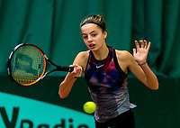 Wateringen, The Netherlands, March 16, 2018,  De Rhijenhof , NOJK 14/18 years, Nat. Junior Tennis Champ. Florentine Dekkers (NED)<br /> Photo: www.tennisimages.com/Henk Koster