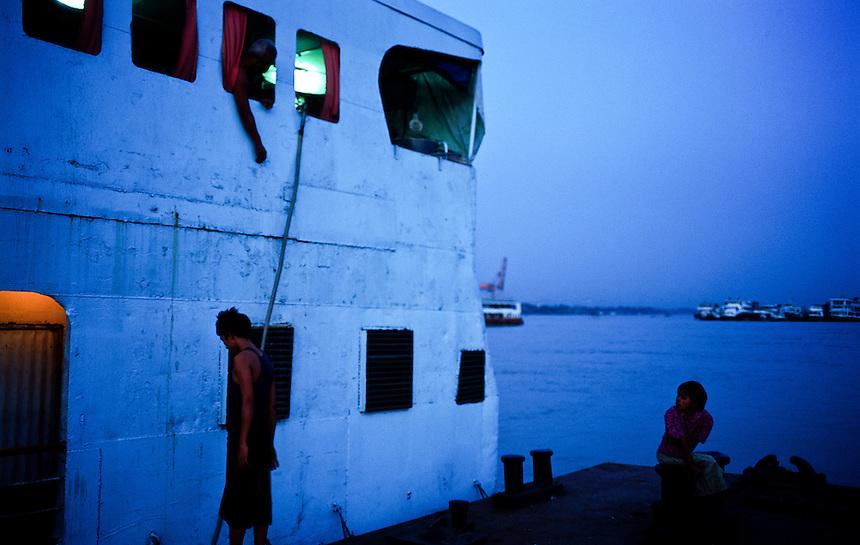 Burma: Yangon Street
