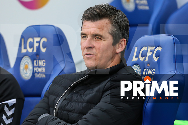 Joey Barton (Manager) of Fleetwood Town during the English League Cup Round 2 Group North match between Leicester City and Fleetwood Town at the King Power Stadium, Leicester, England on 28 August 2018. Photo by David Horn.