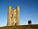"""Broadway Tower designed by  Capability Brown for George William 6th Earl of Coventry with the help of renowned architect James Wyatt and completed in 1798.Wyatt designed his """"Saxon Tower"""" as an eccentric amalgamation of architectural components ranging from turrets,battlements and gargoyles to balconies. The 2nd highest point of the cotswolds"""