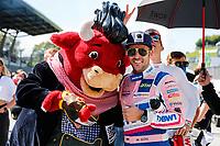 5th September 2021; Red Bull Ring, Spielberg, Austria; DTM Race 2 at Spielberg; Mascot of the Red Bull Ring 4 Maximilian Goetz D, Mercedes AMG GT3, Haupt Racing Team