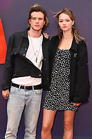 """Dougie Poynter and Maddie Elmer<br /> arriving for the """"Toy Story 4"""" premiere at the Odeon Luxe, Leicester Square, London<br /> <br /> ©Ash Knotek  D3509  16/06/2019"""