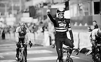 Wout Poels (NLD/SKY) wins the 102nd Liège-Bastogne-Liège 2016