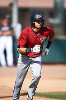 Arizona Diamondbacks Bryan Araiza (9) during an Instructional League game against the Colorado Rockies on October 7, 2016 at Salt River Fields at Talking Stick in Scottsdale, Arizona.  (Mike Janes/Four Seam Images)