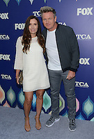 Gordon Ramsey + wife @ the FOX summer TCA all star party held @ the Soho house.<br /> August 8, 2016