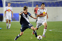 Alex Muyl (23) of the USA. The USMNT U-17 defeated New York Red Bulls U-18 4-1 during a friendly at Red Bull Arena in Harrison, NJ, on October 09, 2010.