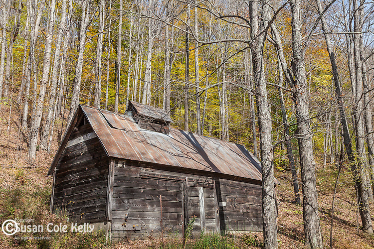 A sugar shack in Tunbridge, VT, USA