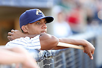 June 11th 2008:  Ron Rivas of the Lake County Captains, Class-A affiliate of the Cleveland Indians, during a game at Classic Park in Eastlake,OH.  Photo by:  Mike Janes/Four Seam Images