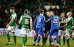 08.03.2019 Hibs v Rangers: Darren McGregor sent off