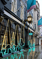 NOV 20 Tiffany & Co Neon Christmas Trees