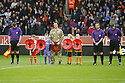 Minute's silence for Remembrance Day<br />  - Wolverhampton Wanderers v Stevenage - Sky Bet League One - Molineux, Wolverhampton - 2nd November 2013. <br /> © Kevin Coleman 2013