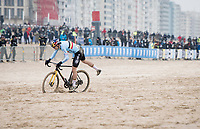 Wout van Aert (BEL/Jumbo-Visma)<br /> <br /> UCI 2021 Cyclocross World Championships - Ostend, Belgium<br /> <br /> Elite Men's Race<br /> <br /> ©kramon