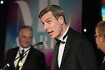 © Joel Goodman - 07973 332324 . 03/03/2016 . Manchester , UK . Award sponsor . The Manchester Legal Awards from the Midland Hotel . Photo credit : Joel Goodman