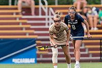 NEWTON, MA - MAY 22: Cara Urbank #26 of Boston College free position portrait during NCAA Division I Women's Lacrosse Tournament quarterfinal round game between Notre Dame and Boston College at Newton Campus Lacrosse Field on May 22, 2021 in Newton, Massachusetts.