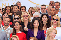 CHARLIZE THERON, JESSICA CHASTAIN, ADRIEN BRODY, NICOLE GARCIA, VALERIE DONZELLI, MATHIEU KASSOVITZ, BERENICE BEJO, PEDRO ALMODOVAR, WILL SMITH, MAÏWEEN, JULIETTE BINOCHE, UMA THURMAN - PHOTOCALL DES PERSONNALITES AU 70EME ANNIVERSAIRE DU FESTIVAL DU FILM CANNES