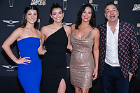 MIAMI, FL - FEBRUARY 1: Charli D'Amelio, Dixie D'Amelio, Heidi D'Amelio and Marc D'Amelio attends the 2020 NFL Honors at the Ziff Ballet Opera House during Super Bowl LIV week on February 1, 2020 in Miami, Florida. (Photo by Anthony Behar/Fox Sports/PictureGroup)