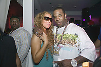 MIAMI, FL- AUGUST 6, 2006: (EXCLUSIVE COVERAGE) Mariah Carey parties after her concert with an unidentified man at Nocturnal, Downtown Miami's hottest after hours club. August 06, 2006, in Miami,  Florida<br /> <br /> <br /> People:  Mariah Carey