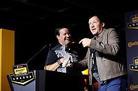 IMSA Continental Tire SportsCar Challenge<br /> Series Awards Banquet<br /> Road Atlanta, Braselton GA<br /> Friday 6 October 2017<br /> Travis Roffler and Jeff Mosing with the Continental Extreme Spirit Award<br /> World Copyright: Michael L. Levitt<br /> LAT Images