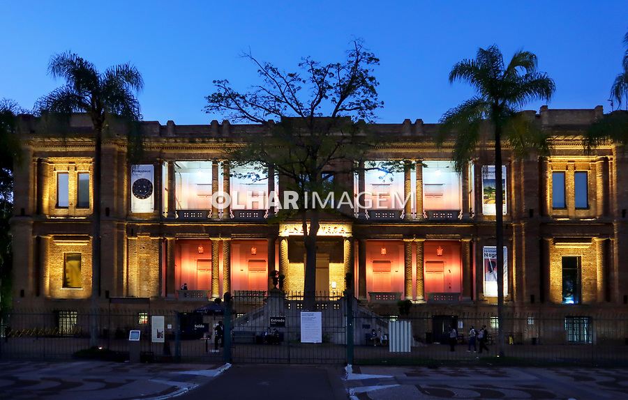 Edificio da Pinacoteca, São Paulo. 2021. Foto Juca Martins.