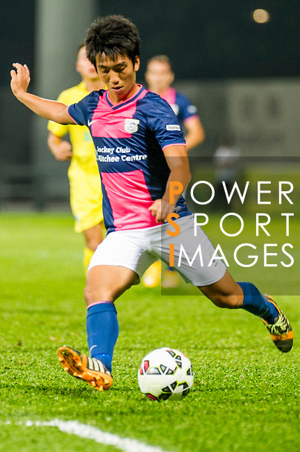 Kitchee vs BC Rangers during the HKFA Premier League at the Mong Kok Stadium on 31 October 2014 in Hong Kong, China. Photo by Chung Yan Man / Power Sport Images