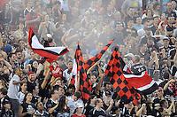 D.C. United fans. D.C. United defeated Real Salt Lake 4-1 at RFK Stadium, Saturday September 24 , 2011.