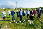 Norma Foley TD with local councillors and residents in Fenit on Monday evening after funding having been allocated to upgrade the Fenit Waste Water Treatment Plant. L to r: Cllr: Deirdre Ferris, Catherine Carthy,Tadgh Murphy,  Mike Moriarty, Mike O'Neill, Adrian Biggan, Cllr: Mikey Sheehy, Norma Foley TD, Eileen O'Connell and Cllr: Johnny Wall,