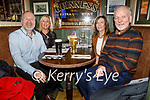 Pat and Sheila Kelly, Noreen and Danny O'Leary enjoying the evening in the Mall Tavern on Saturday.