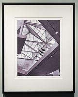 """Framed Size 20""""h x 16""""w, $365<br /> Matte Black Nielsen 117 metal frame<br /> with 8-ply mat"""