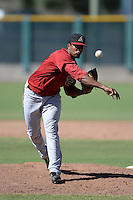 Arizona Diamondbacks pitcher Jency Solis (11) during an instructional league game against the San Francisco Giants on October 3, 2013 at Giants Baseball Complex in Scottsdale, Arizona.  (Mike Janes/Four Seam Images)