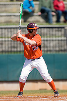 Anthony Sosnoskie #13 of the Virginia Tech Hokies at bat against the Wake Forest Demon Deacons at English Field March 27, 2010, in Blacksburg, Virginia.  Photo by Brian Westerholt / Four Seam Images