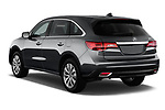 Car pictures of rear three quarter view of 2014-2016 Acura MDX Technology 5 Door SUV angular rear