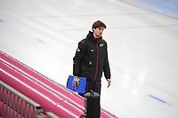 SPEED SKATING: HAMAR: Viking Skipet, 01-02-2019, ISU World Cup Speed Skating, Daan Rottier (trainer/coach Germany), ©photo Martin de Jong