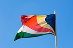 Seychelles: national flag<br />