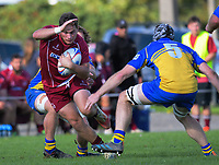 Action from the Horowhenua Kapiti Ramsbotham Cup premier club rugby match between Shannon and Paraparaumu at Shannon Domain in Shannon, New Zealand on Saturday, 17 April 2021. Photo: Dave Lintott / lintottphoto.co.nz