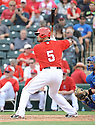 Los Angeles Angels Albert Pujols (5) during a Spring Training game against the Chicago Cubs on February 28, 2014 at Cubs Park in Mesa, AZ. The Angels beat the Cubs 15-3.