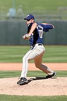Matt Buschmann  - San Diego Padres - 2009 spring training.Photo by:  Bill Mitchell/Four Seam Images